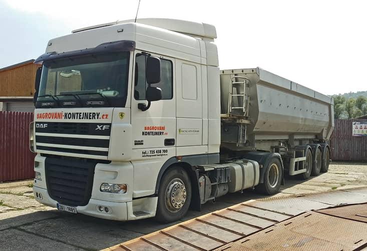 DAF 4x2 návěsová souprava
