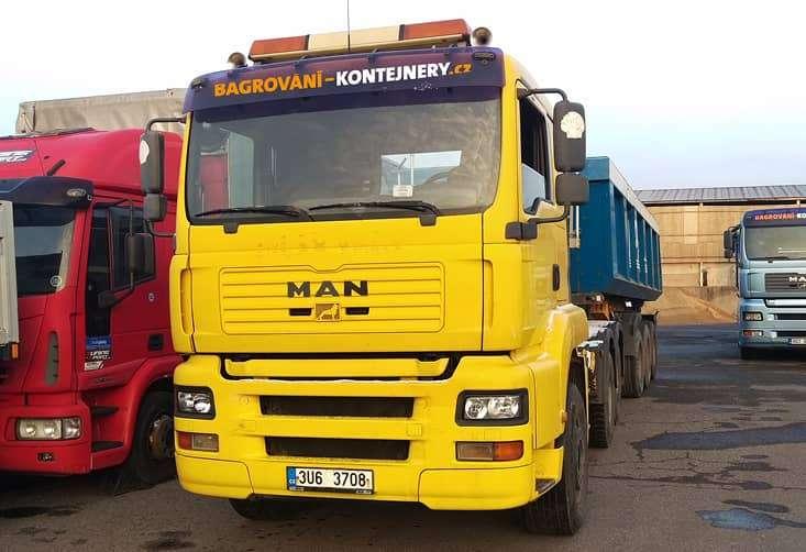 MAN 6x4 návěsová souprava