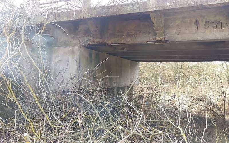 Malešov – rekonstrukce mostku