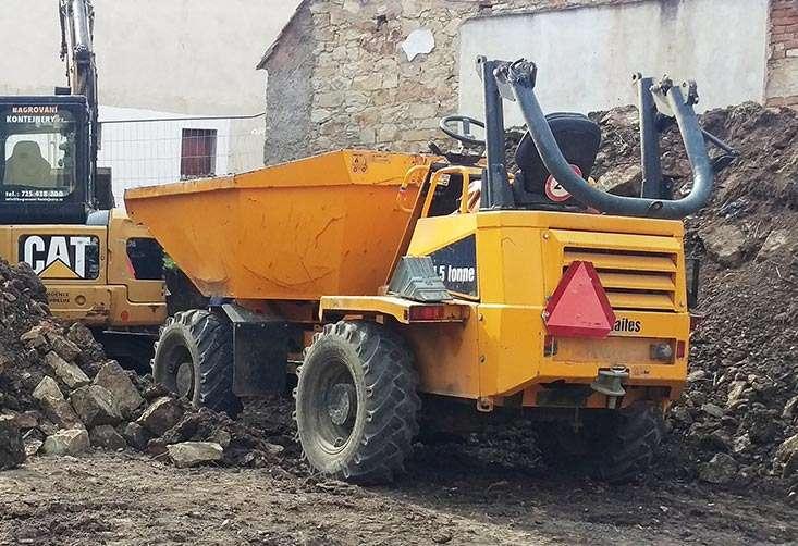 Dumper Thwaites 4,5t 4×4